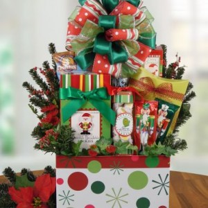 Celebrate the holidays with a great gift basket!