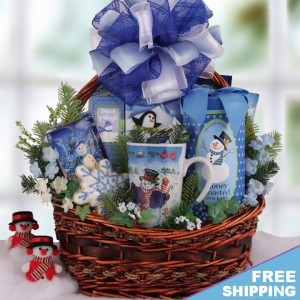 Be Santa's Helper With Our Free Shipping Holiday Gift Baskets