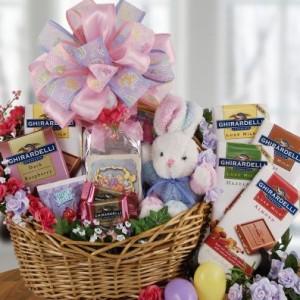Ghirardelli Easter Basket