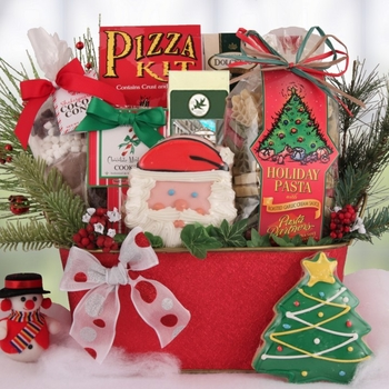 christmas gift baskets for families something for everyone