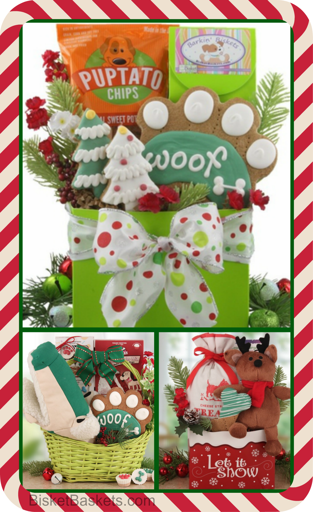 Tell Your Pup You Care with a Christmas Dog Gift Basket