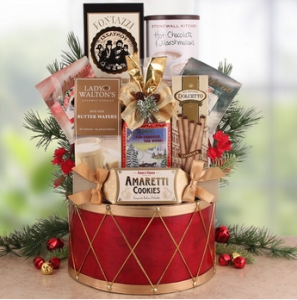 Gourmet Christmas Gifts for Hosts | BisketBaskets.com