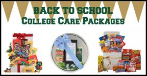 Back to School - College Care Packages - wordpress