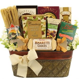 Gourmet Spaghetti Dinner Gift Basket | BisketBaskets.com